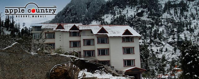 Apple Country Resort Manali Fornt View