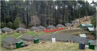 Camp Kanatal located just 40 Kms from Mussoorie