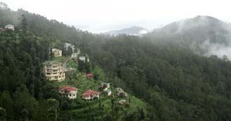 Chail just 7hrs drive from Delhi