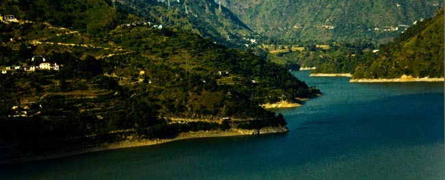 Chamera Lake at Dalhousie