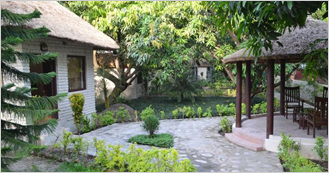 Corbett International Spa & Health Resort at Village Dhikuli near Corbett National Park