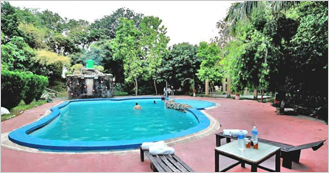 Corbett Jungle Club Resort at Corbett Fall Road near Corbett National Park