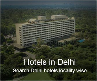Search hotels in Delhi locality wise