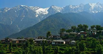 Dharamsala just 496 kms from Delhi