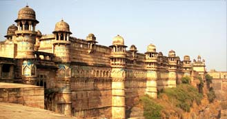 Gwalior just 6hrs and 30 min drive from Delhi