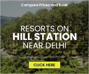 List of Resorts on Hill Station around Delhi