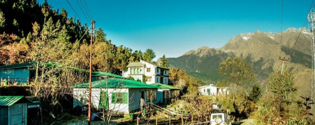 Himalayan eco lodge at Auli, Uttarakhand