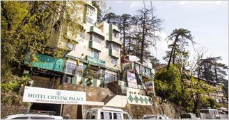 Hotel Crystal Palace is the 3 Star Hotel in Shimla