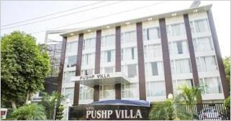 Hotel Pushp Villa is the 3 Star Luxury hotel in Agra