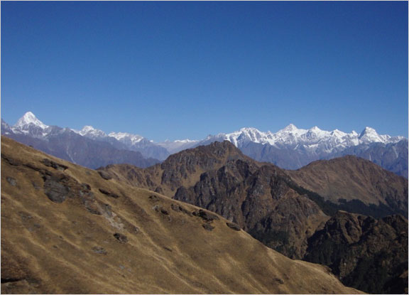 Kuari Pass Trek in November