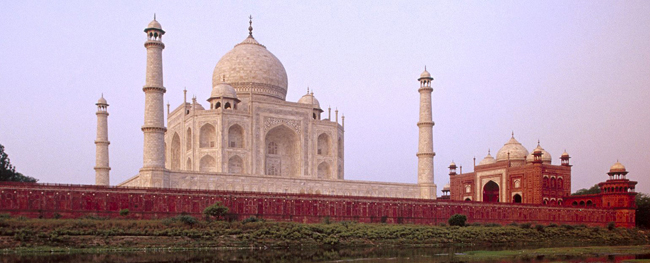 Day view of Taj Mahal, Agra