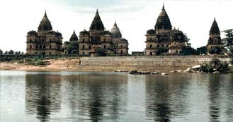 Orchha just 435 kms from Delhi