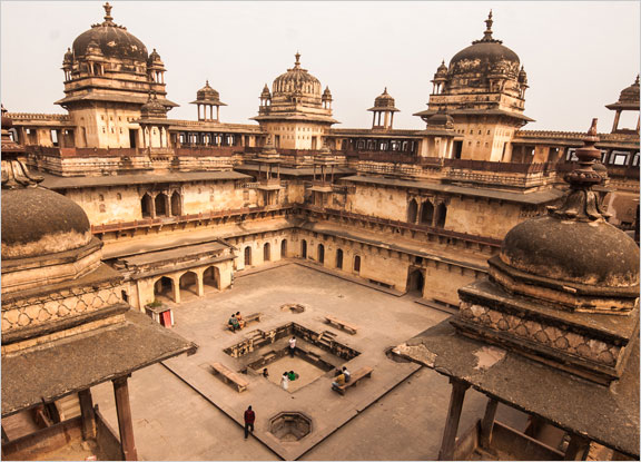 Orchha tour in November
