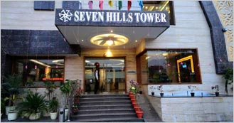 Seven Hills Tower is the 3 Star Luxury hotel in Agra