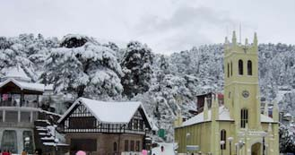 Shimla just 8hrs and 30 min drive from Delhi