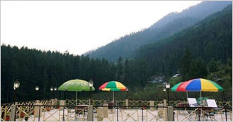 Snow Valley Resorts at Log Hut Area, Manali
