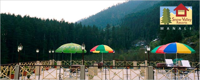 Snow Valley Resort Manali Terrace Reasturant
