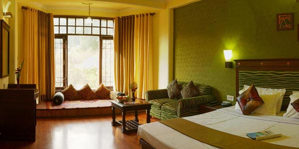 Maharaja Room of Snow Valley Resort Manali