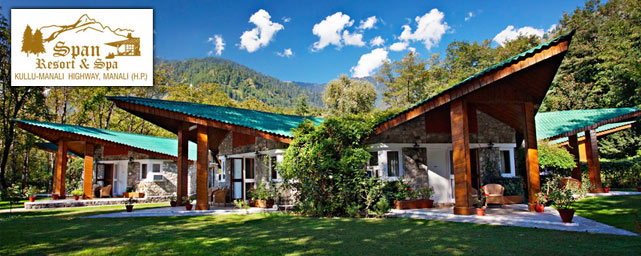 Manali Hotels - Span Resort & Spa  of Himachal