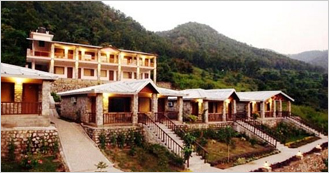 Sterling Corbett Resort at Ramnagar near Corbett National Park