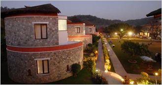 Wood Castle Spa & Resort at Village Dhikuli near Corbett National Park